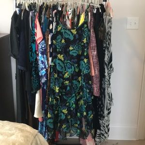 NWOT Betsy Johnson handkerchief dress